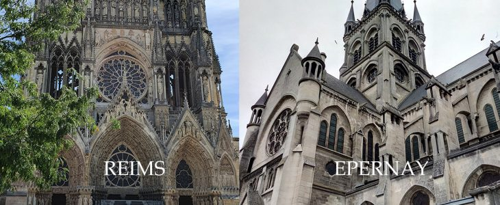 cathedrales reims et epernay